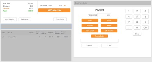 Payment POS Version 3