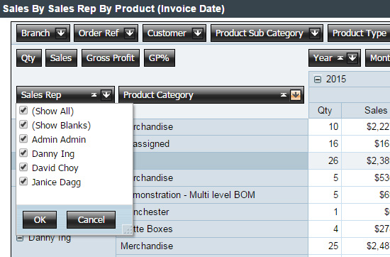 Rich product information management