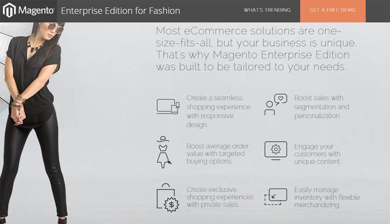 Enterprise Edition for fashion