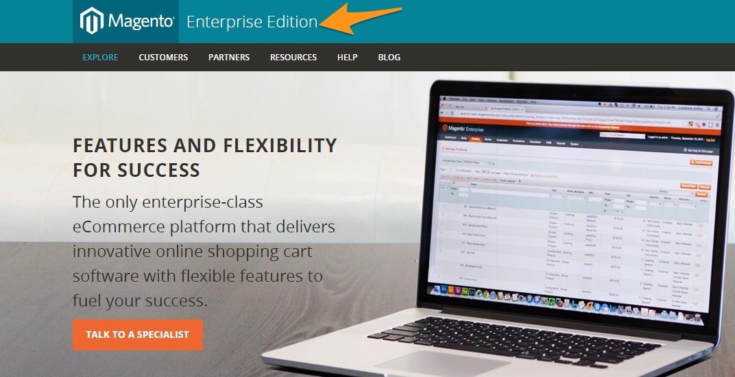 Magento - Enterprise Class platform