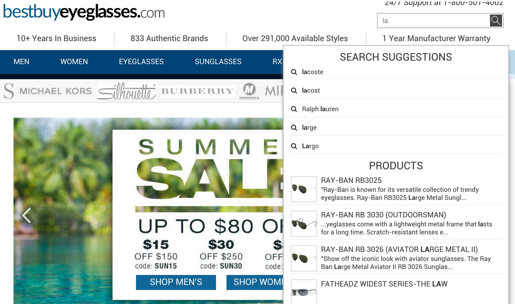 24 best practice tips for eCommerce site search