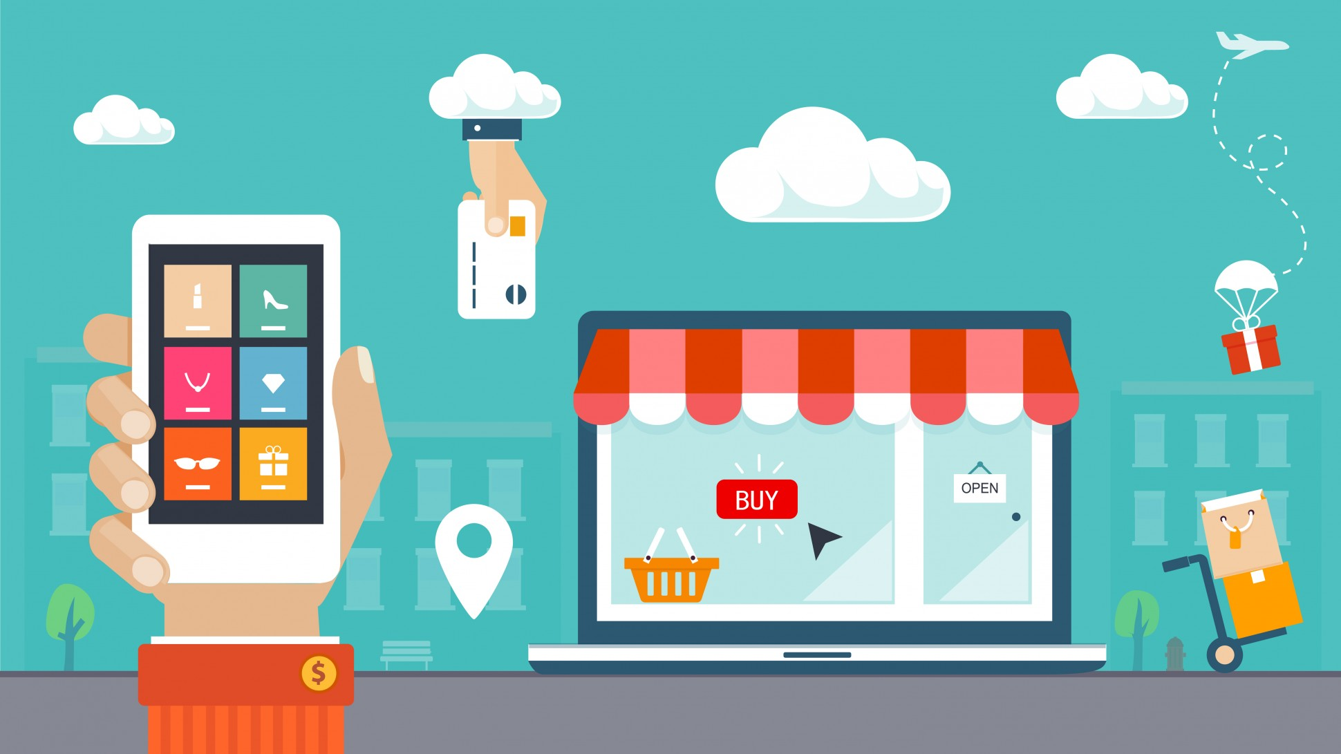 Traditional retailers crush ecommerce giants in omnichannel shopping