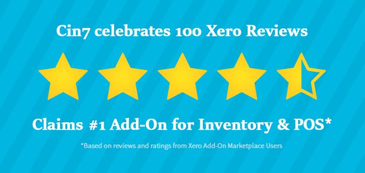 Cin7 Tops 100 Xero Reviews