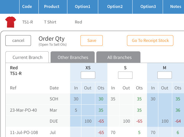 Cin7 inventory control software allows you to check and sell product that's still being shipped