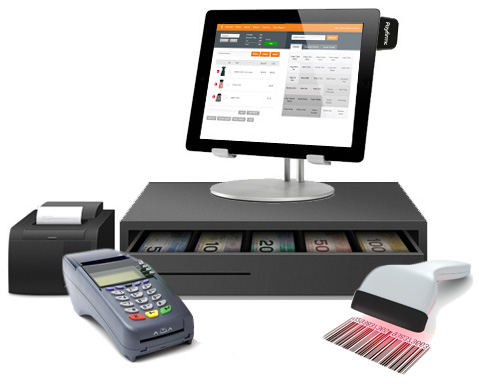 A complete POS system showing Cin7's Desktop and Tablet Cloud POS