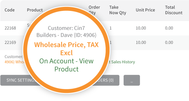 Cin7 POS allows you to have trade and retail pricing for different customer groups