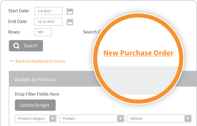 See how Smart Reports allow you to create Purchase Orders direct from the reporting screen.