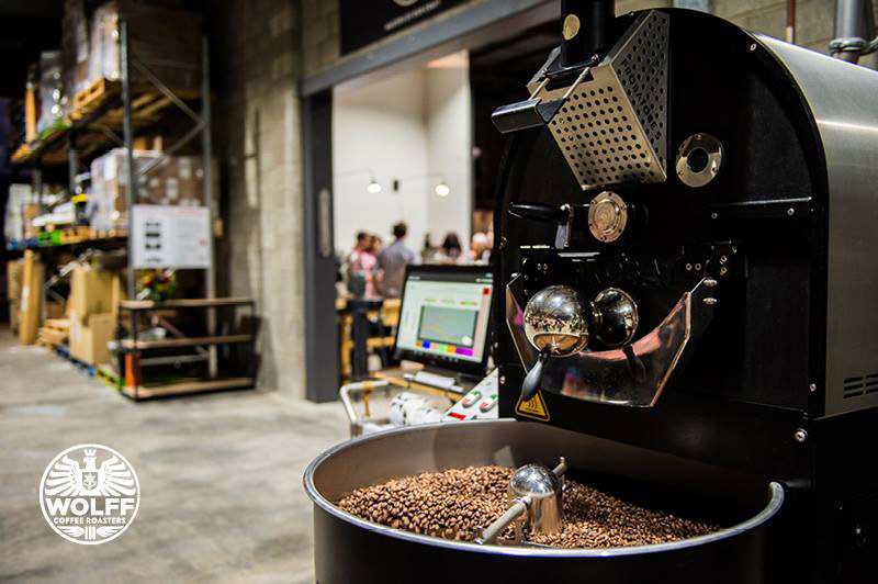 coffee roasters case